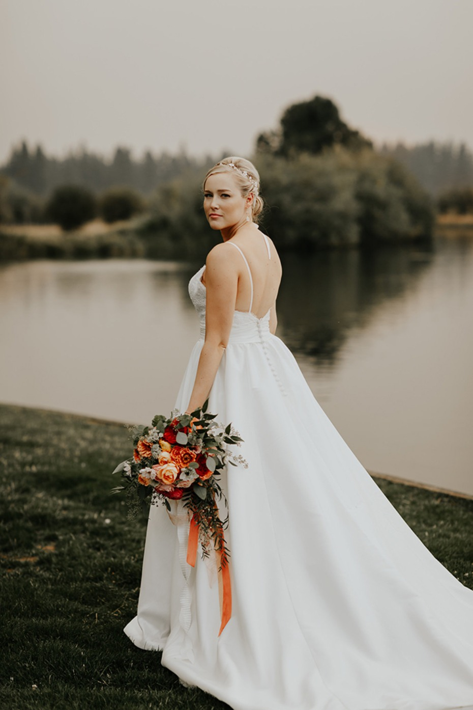 classic chic bridal style