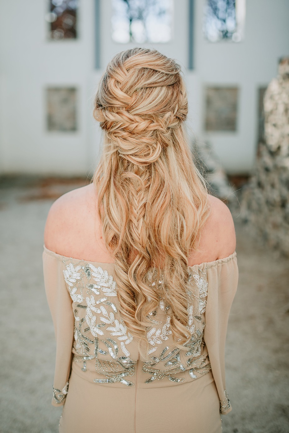 game of thrones inspired wedding hair