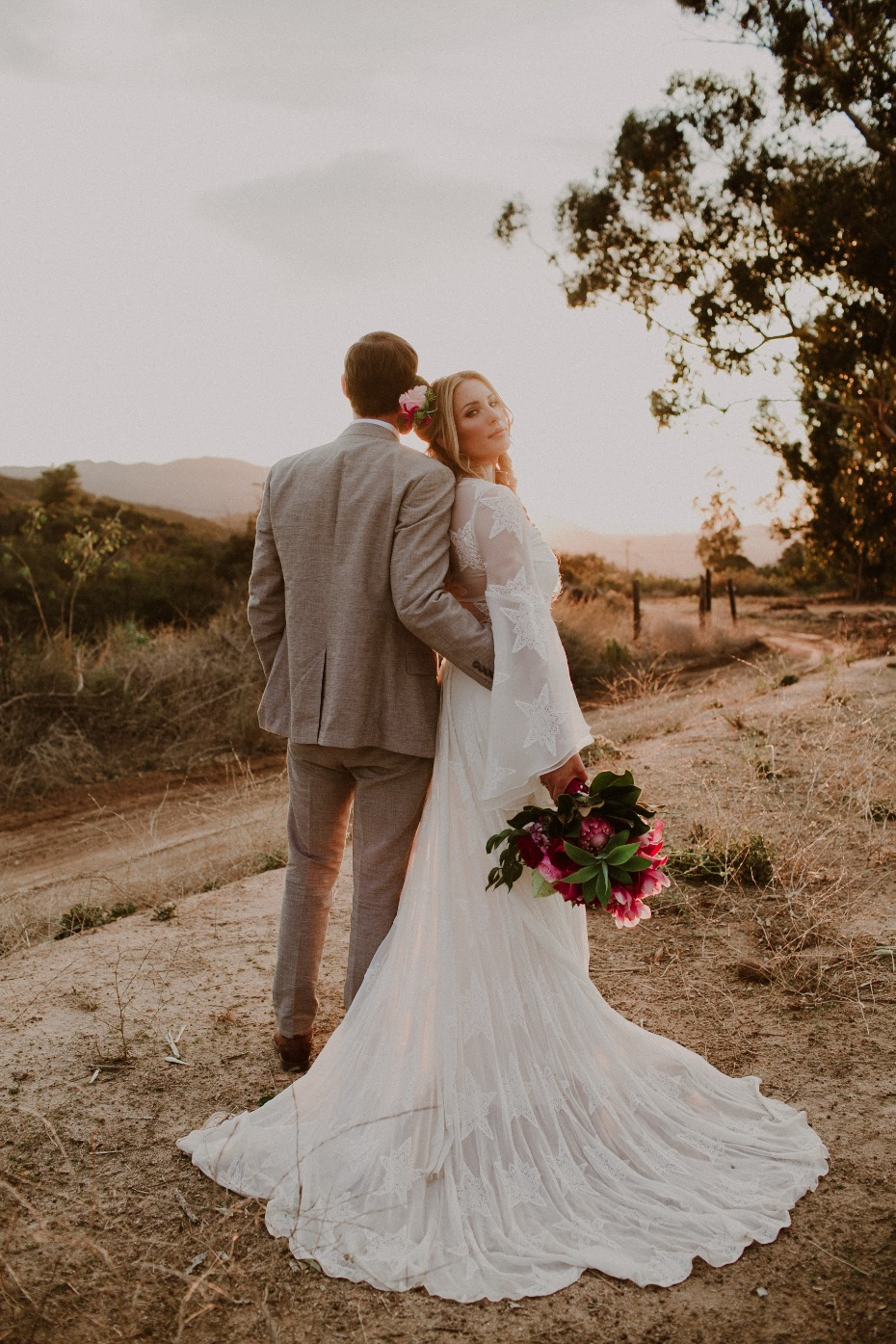 A dreamy Valentines day wedding inspiration