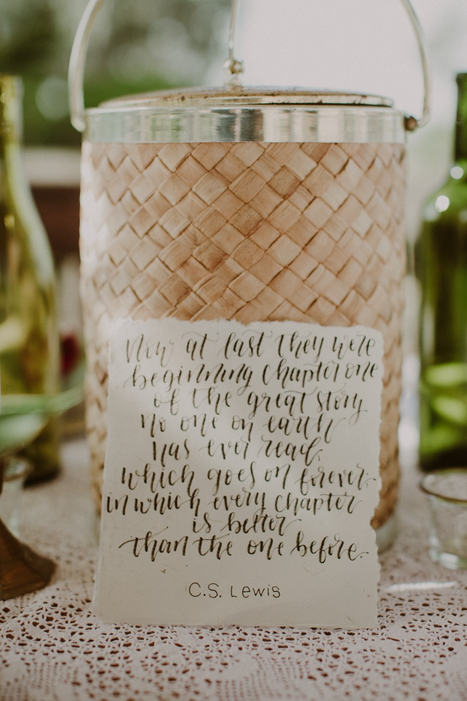 C.S. Lewis quote for your wedding day