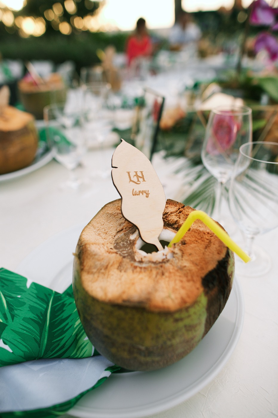 coconuts for your wedding guests