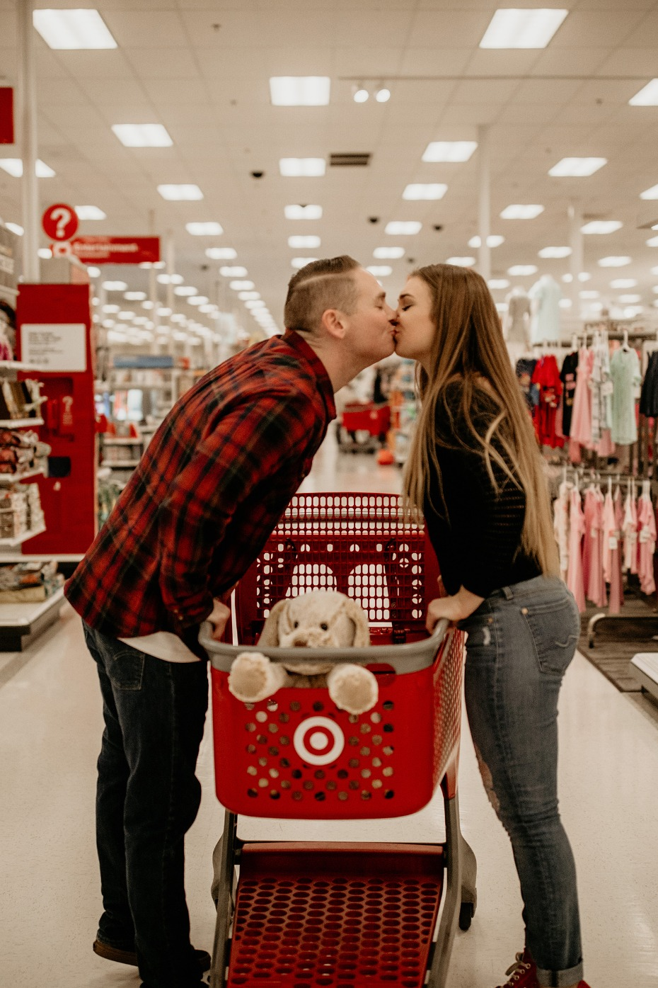 Cute Engagement shoot in Target