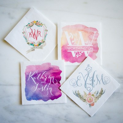 7 Ways To Monogram Like A Pro With Gracious Bridal Party Goods!