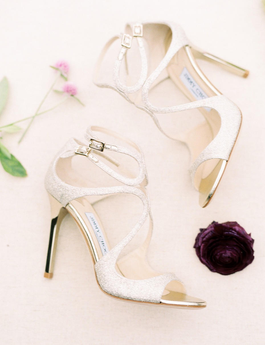 Sparkly Jimmy Choo shoes
