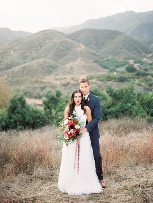 A Romantic Valentine's Day Shoot Inspired by Star-Crossed Lovers