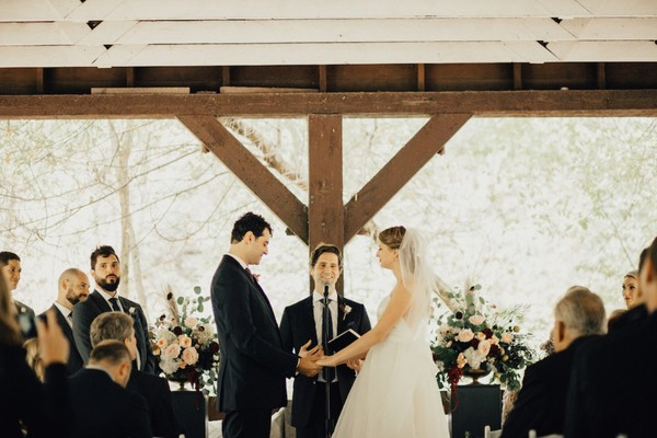 Rustic Ceremony To Rooftop Reception, You Can Have It All
