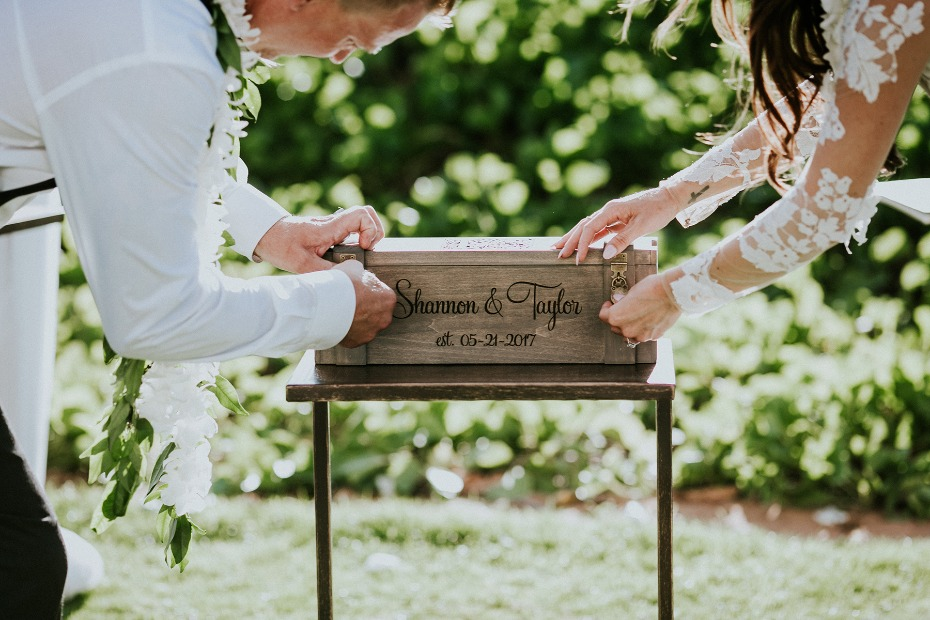 Ceremony lock box