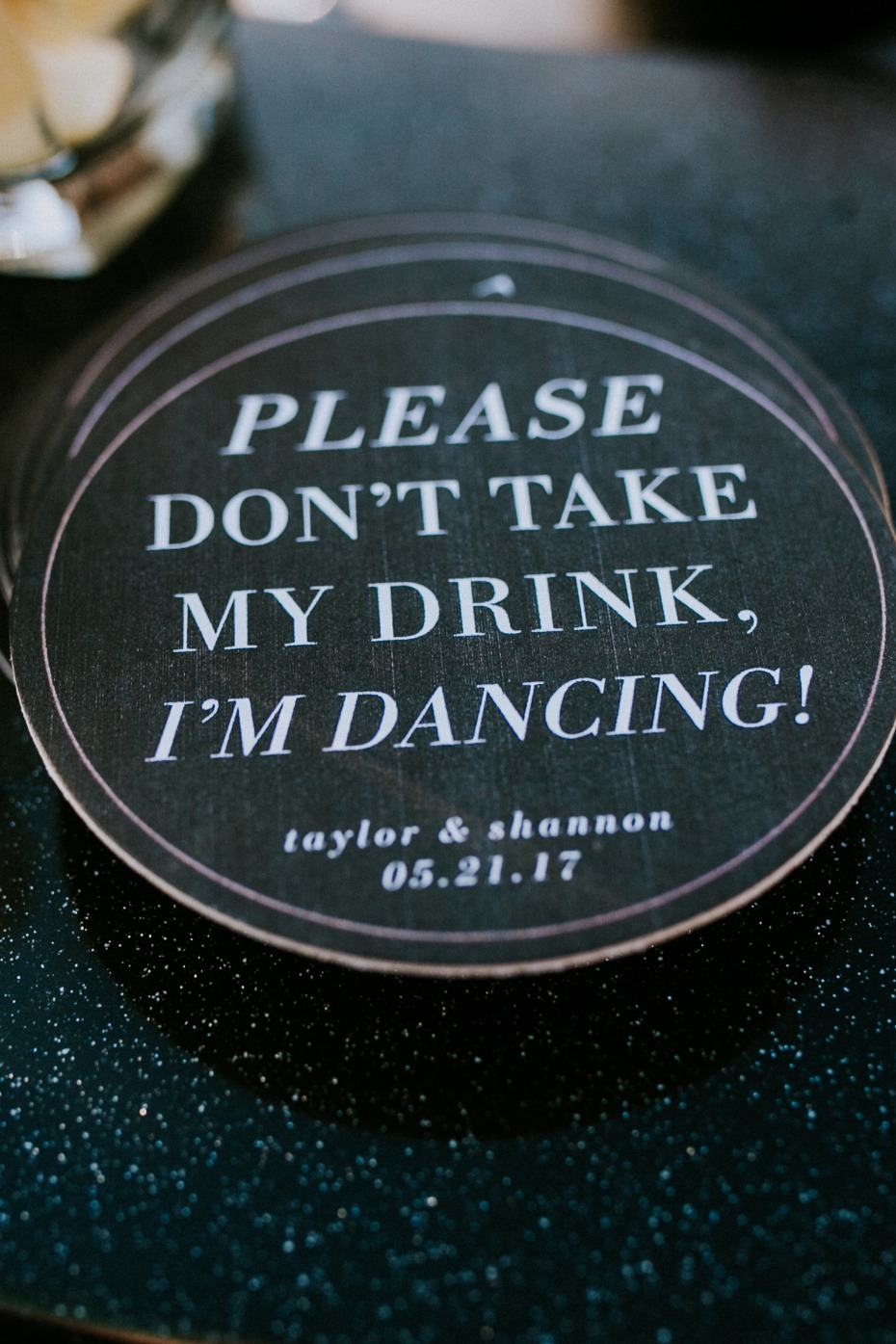 Coaster idea for the party