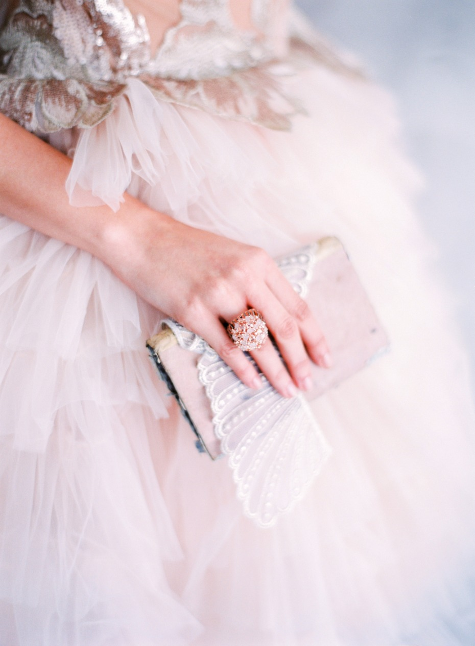 Ring and clutch
