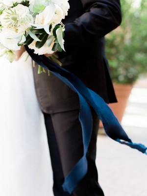 A Classically Elegant Wedding in Navy Blue at The Estate on Second