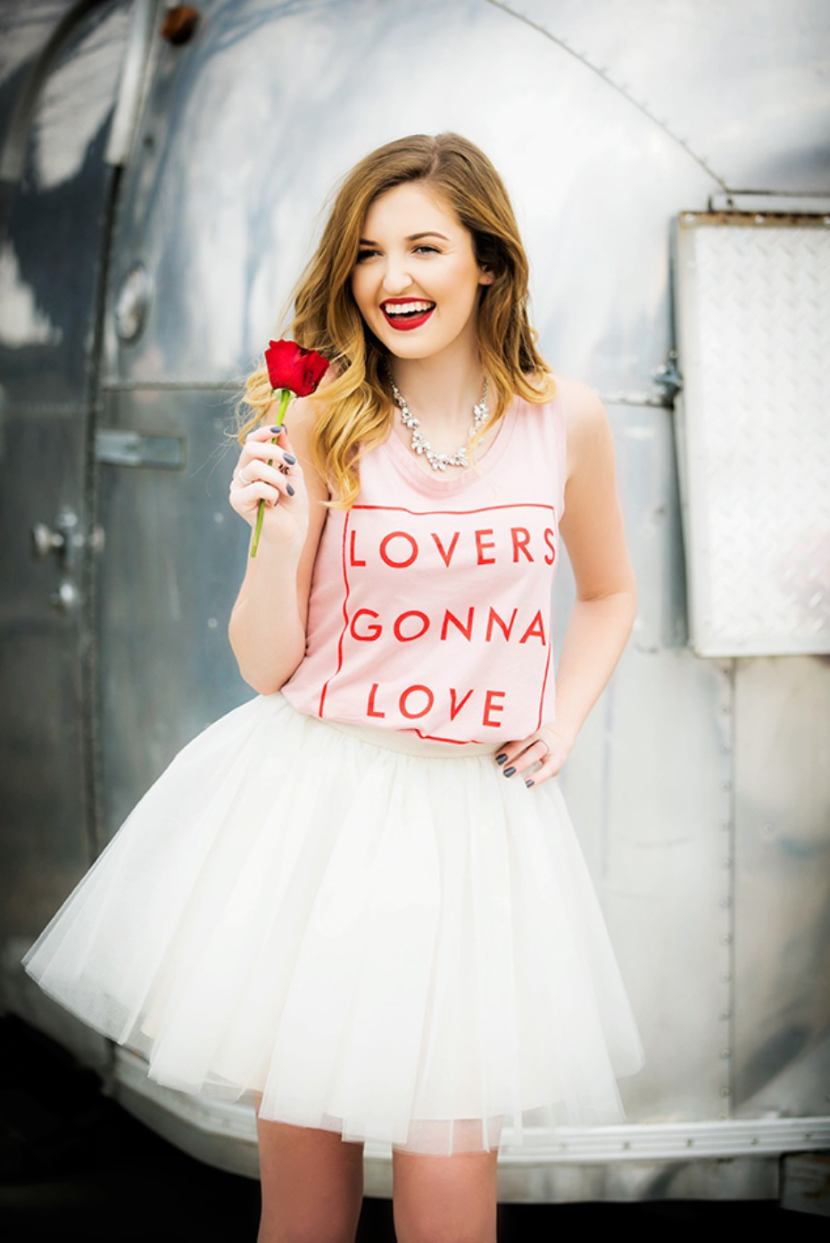 Lovers gonna love this bridal shower outfit from Bliss Tulle