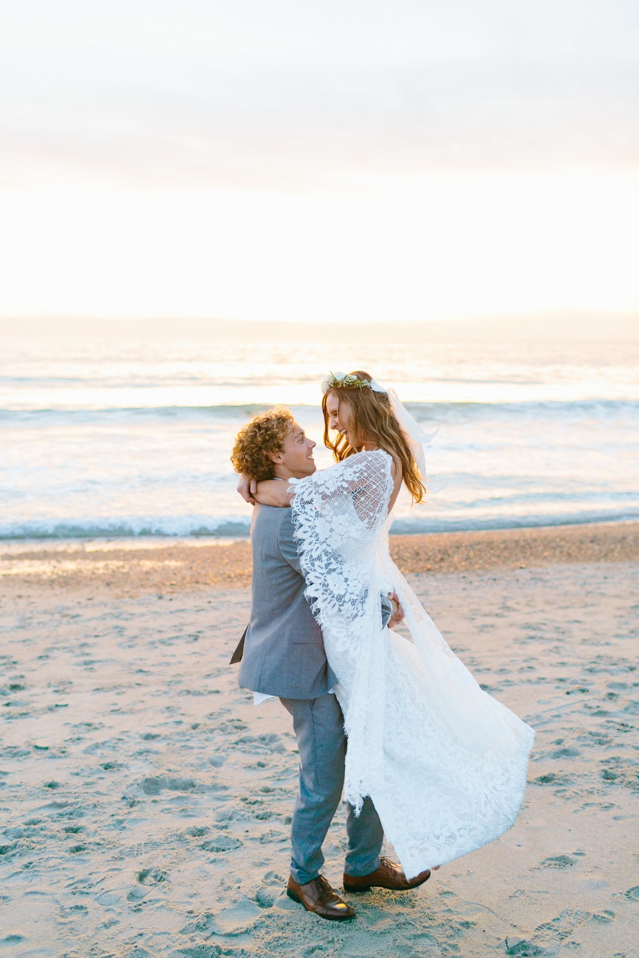California wedding by the beach