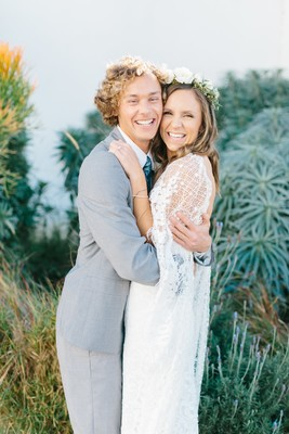 Boho Chic Laid-back Outdoor Wedding in Southern California
