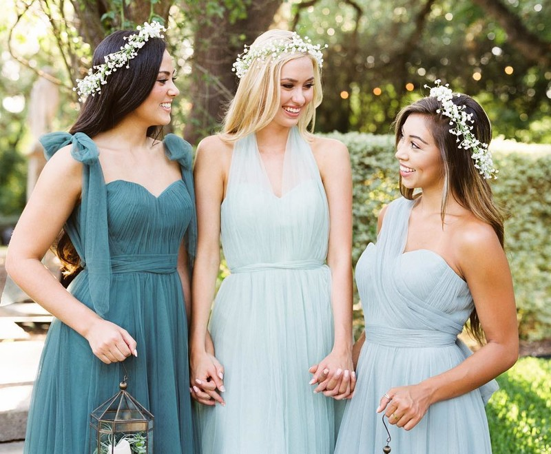 The most unique looks to help your BFF tie the knot. ❤️