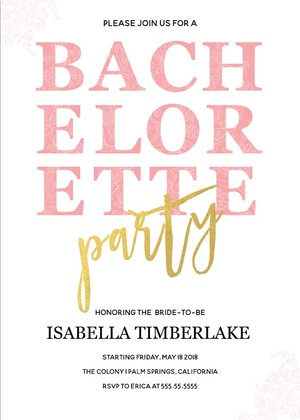 Free Bachelorette Party Invitations