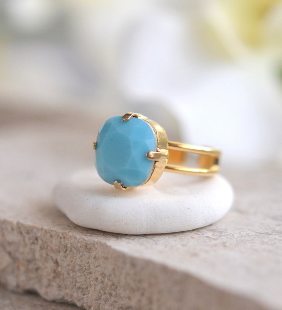 Bold and beautiful, this ring is certain to make a statement!