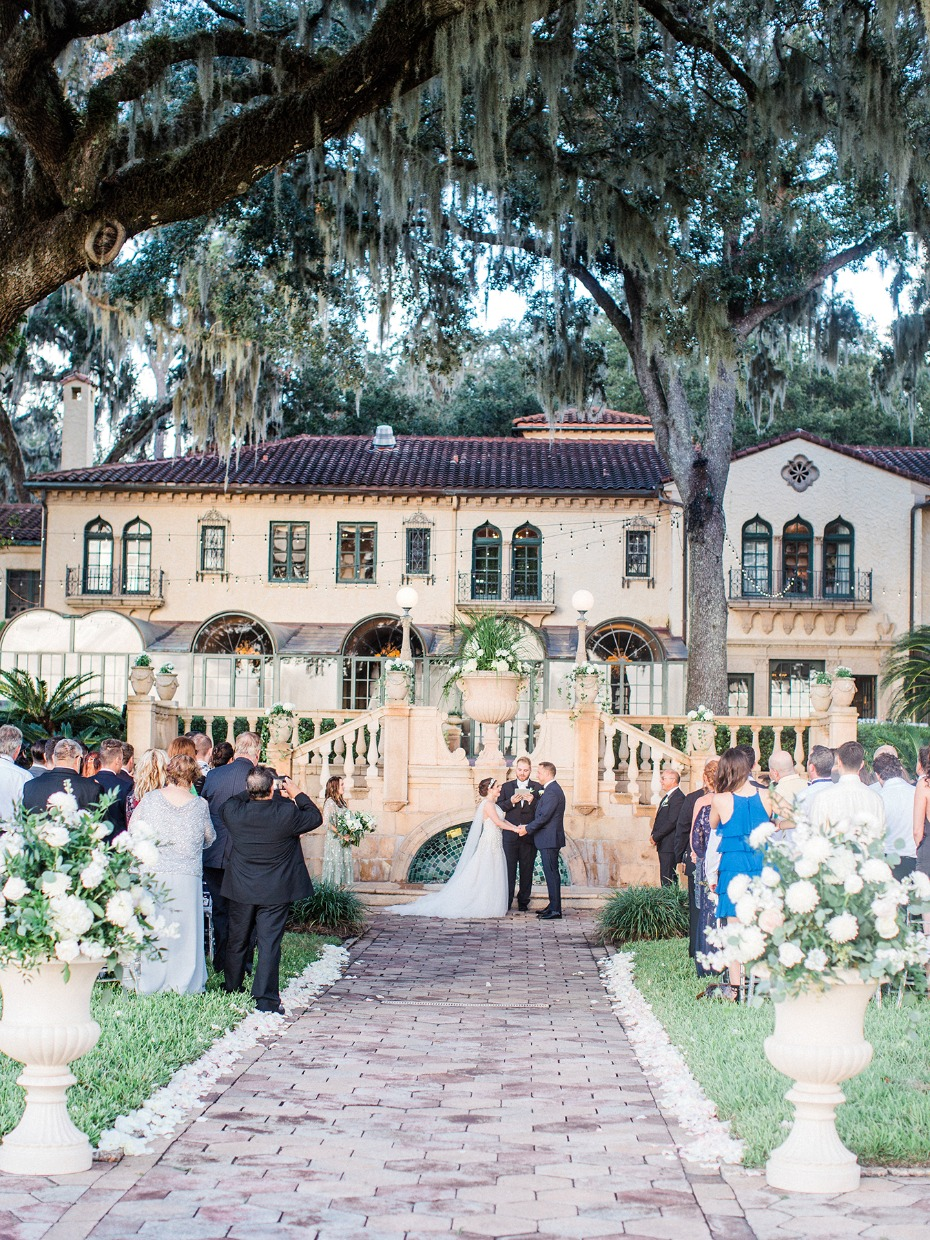 Gorgeous reception at Epping Forest Yacht Club in Jacksonville, Florida