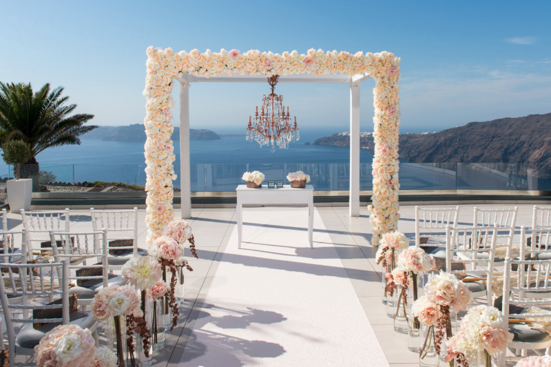 The absolute glamorous destination wedding at Le Ciel!