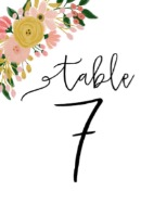 table-number