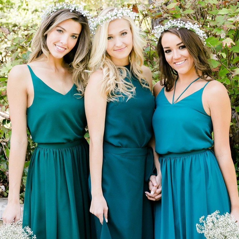 When brides say you can totally wear your bridesmaid outfit again, they were probably talking about these.💕