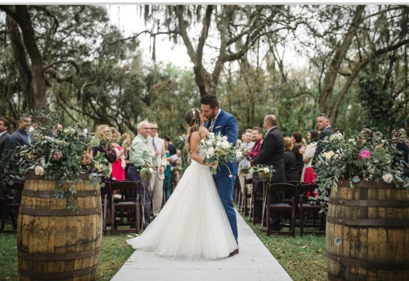 Out of 8 wedding venue trends for 2017, #BakersRanch is covering 7 trends :