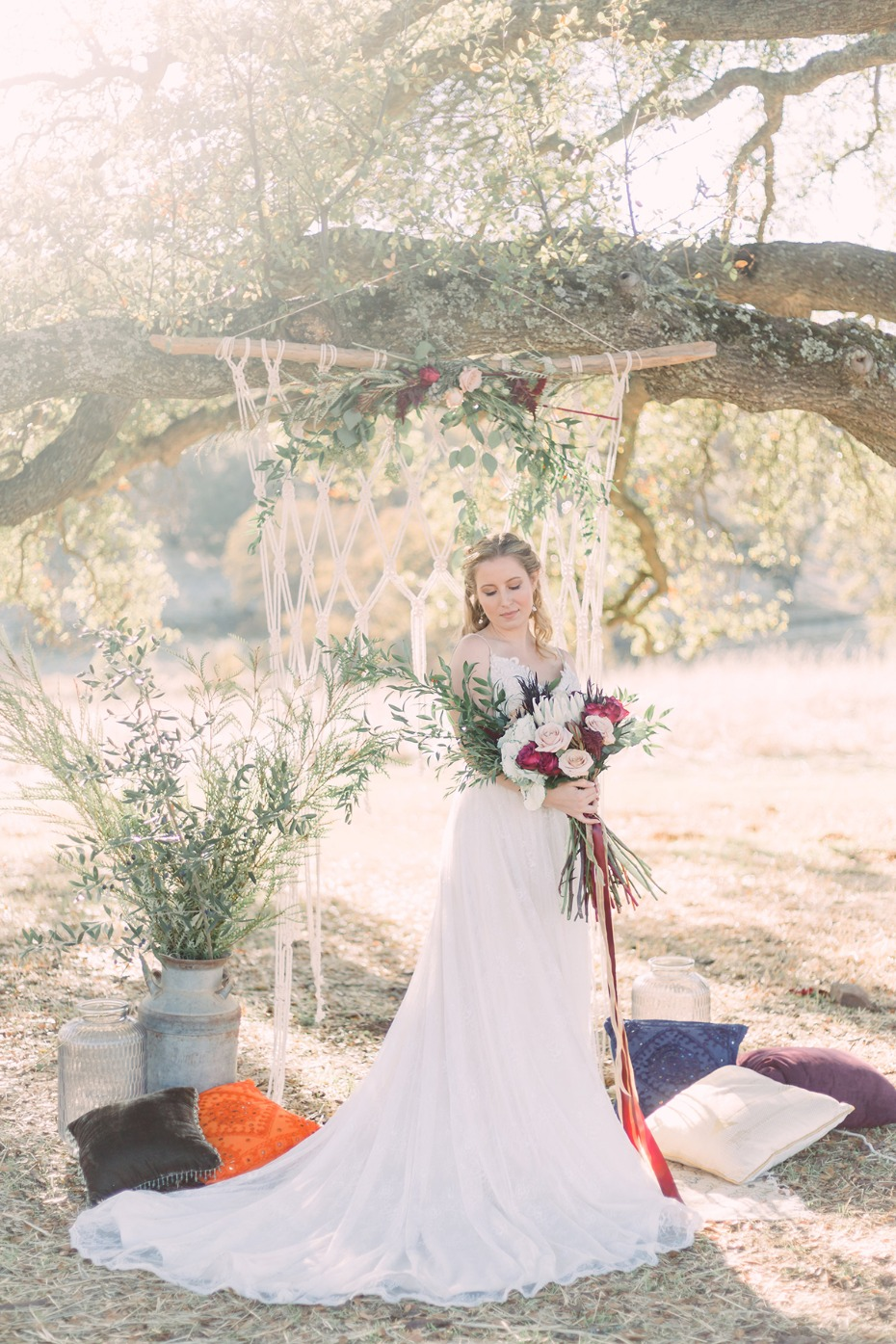 Have a bohemian styled ceremony