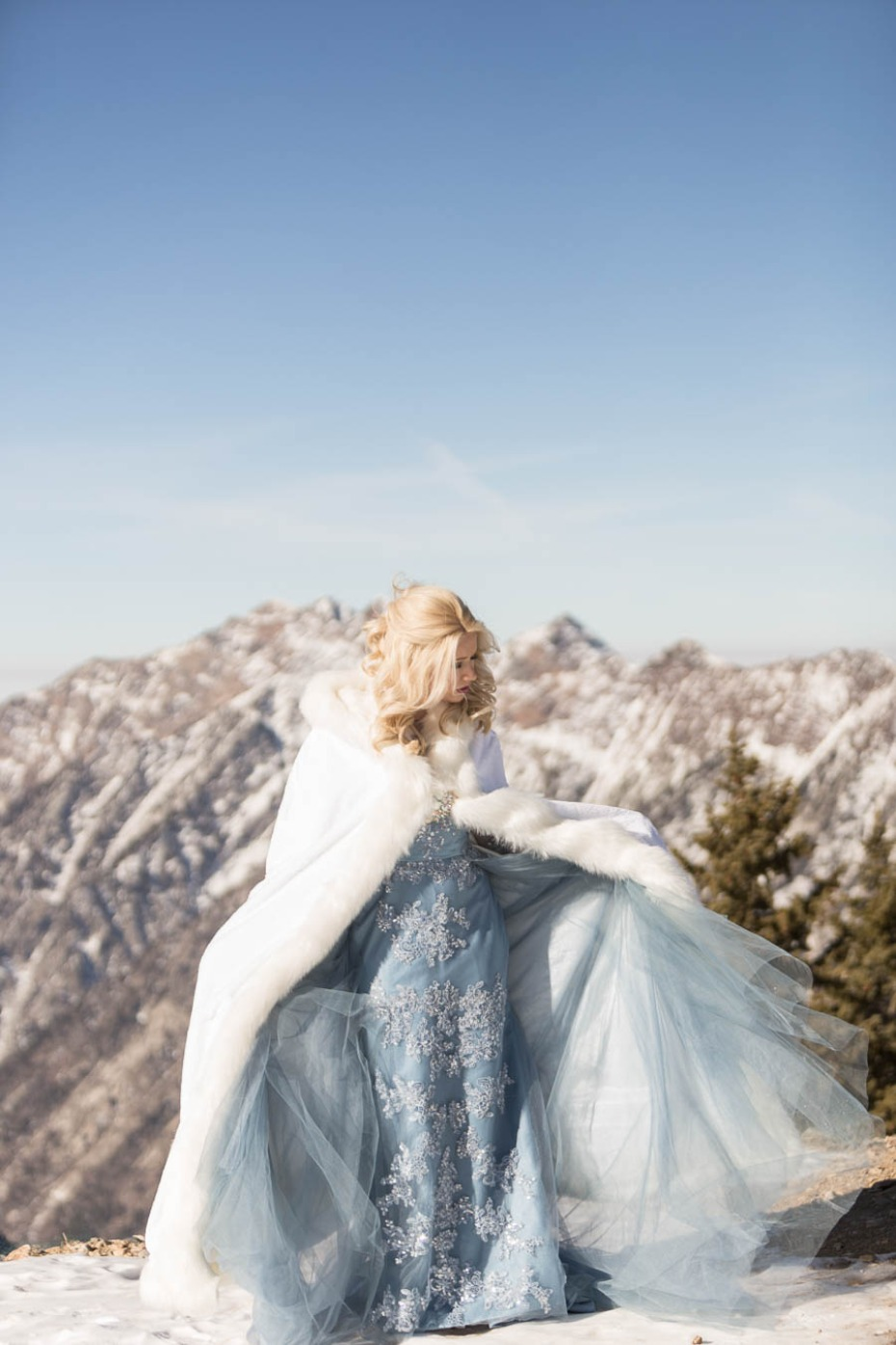 Disneys Frozen inspired wedding style