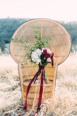 Colorful, Bright, and Free Wedding Ideas for the Bohemian Bride