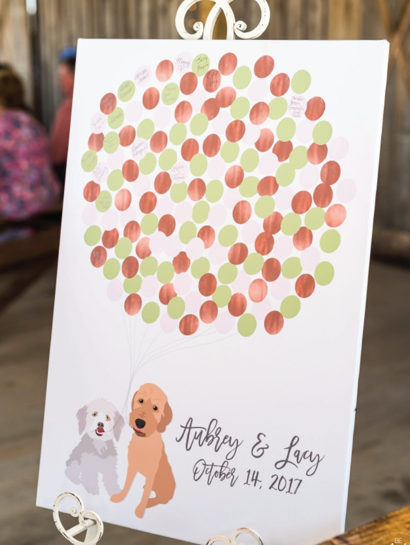 If your pets are your LIFE and you need ways to include them in your wedding... Miss Design Berry is your new BFF