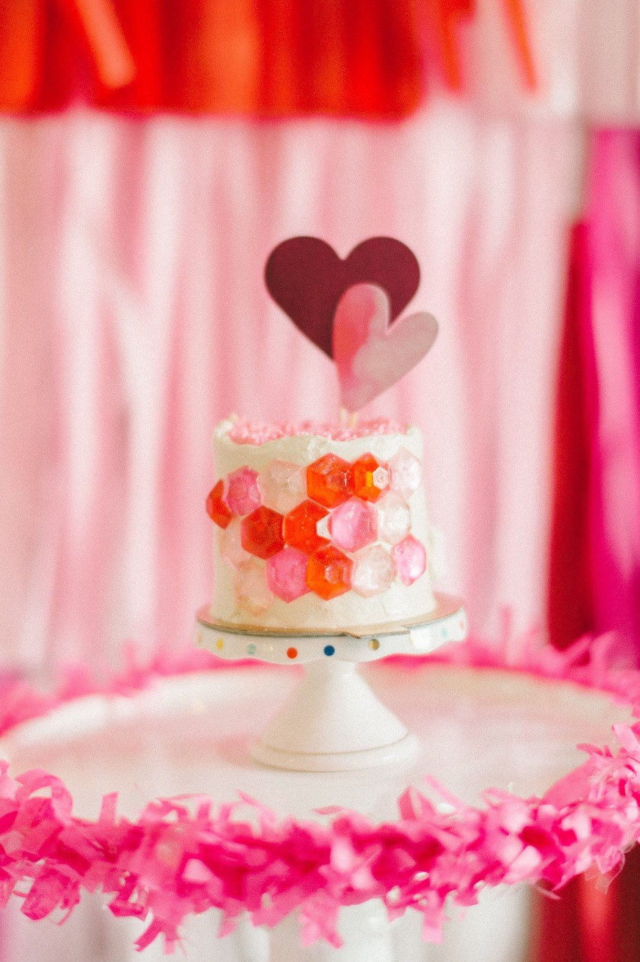 cake decorating bridal shower idea
