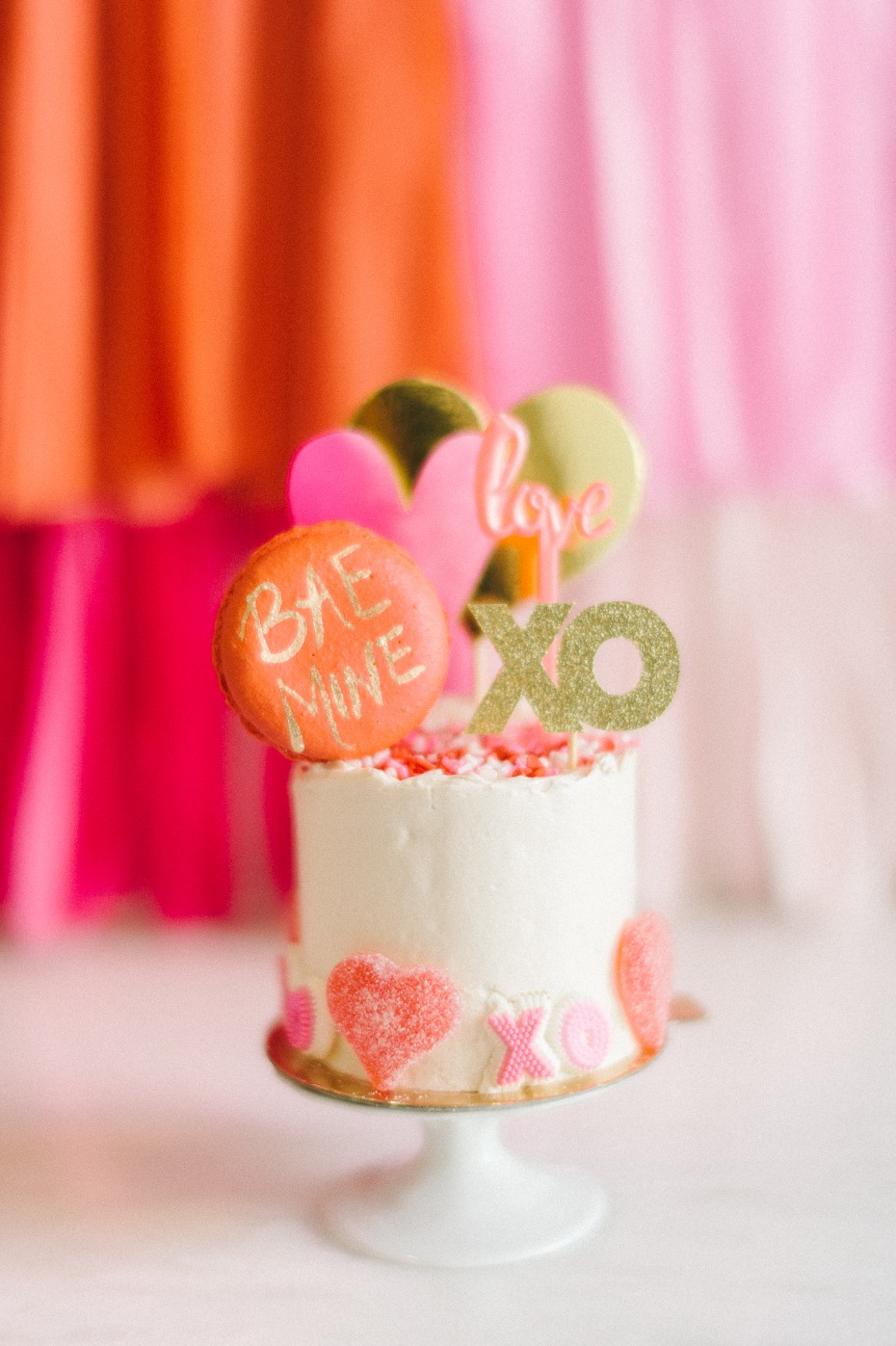 mini cake decoration for your bridal party