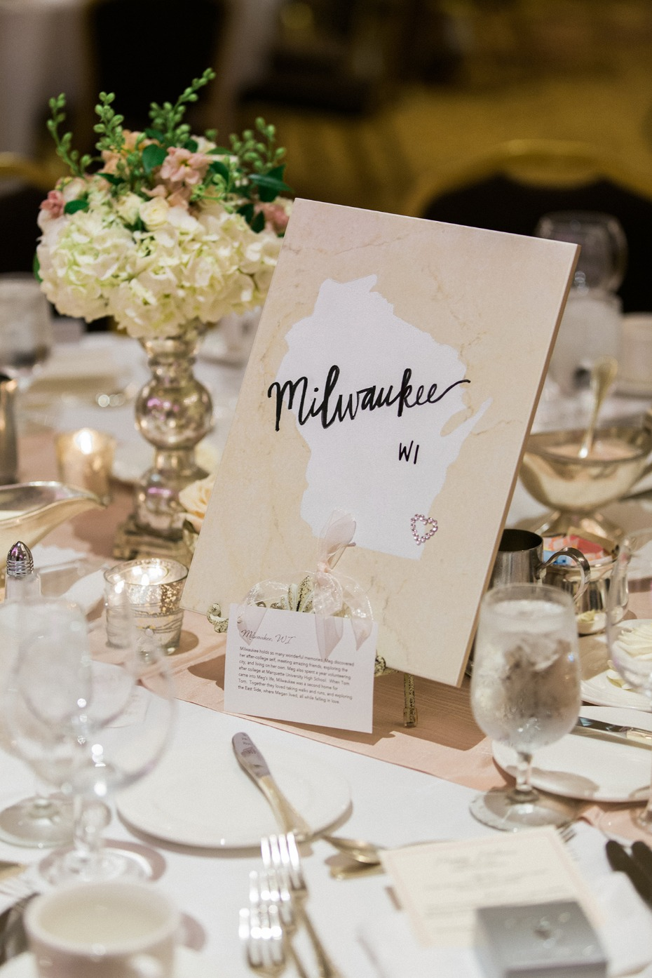 Destination table number idea