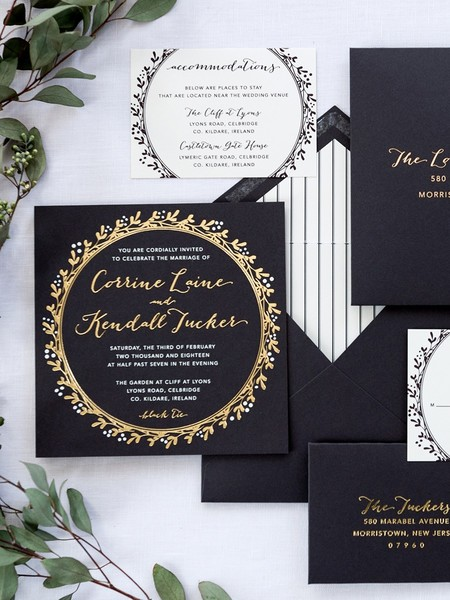 Little Black Dress Paperie; Making Your Invitation Dreams Come True