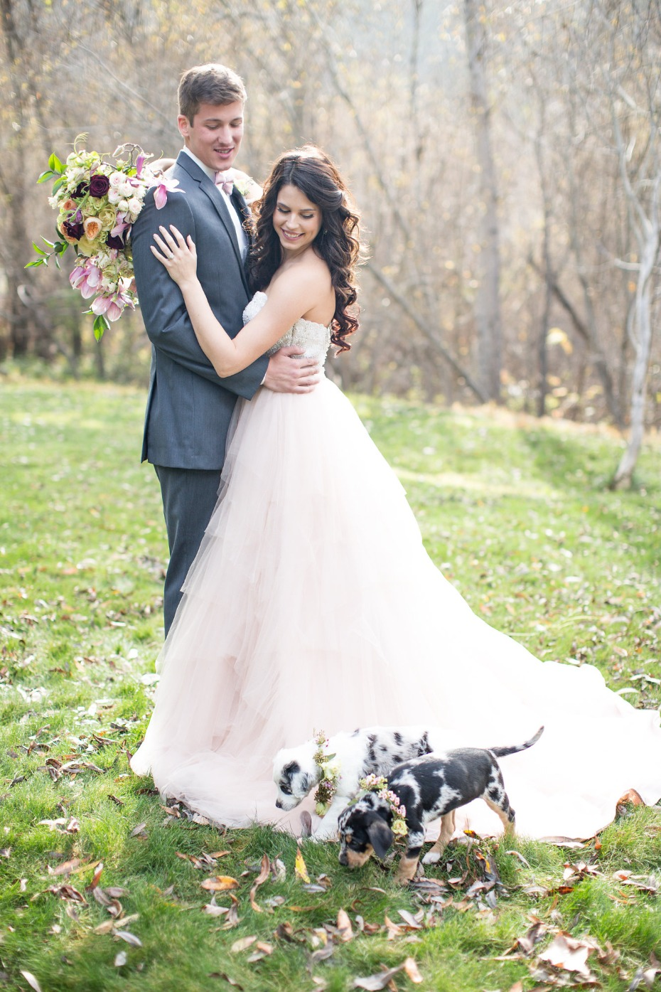 Puppy wedding inspiration