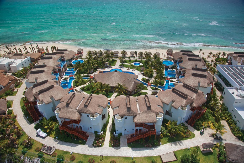Birds eye view of the El Dorado Casitas
