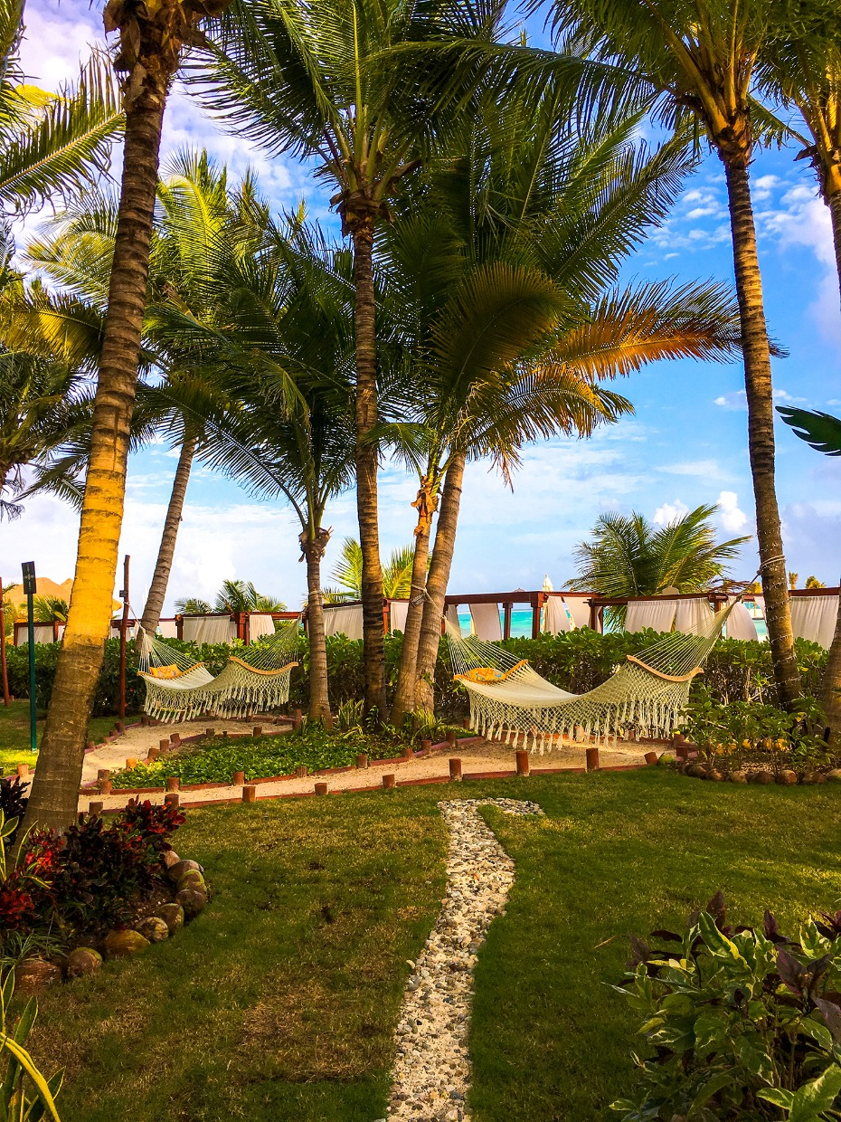 hammocks abound in all the El Dorado properties of Plya del Carmen