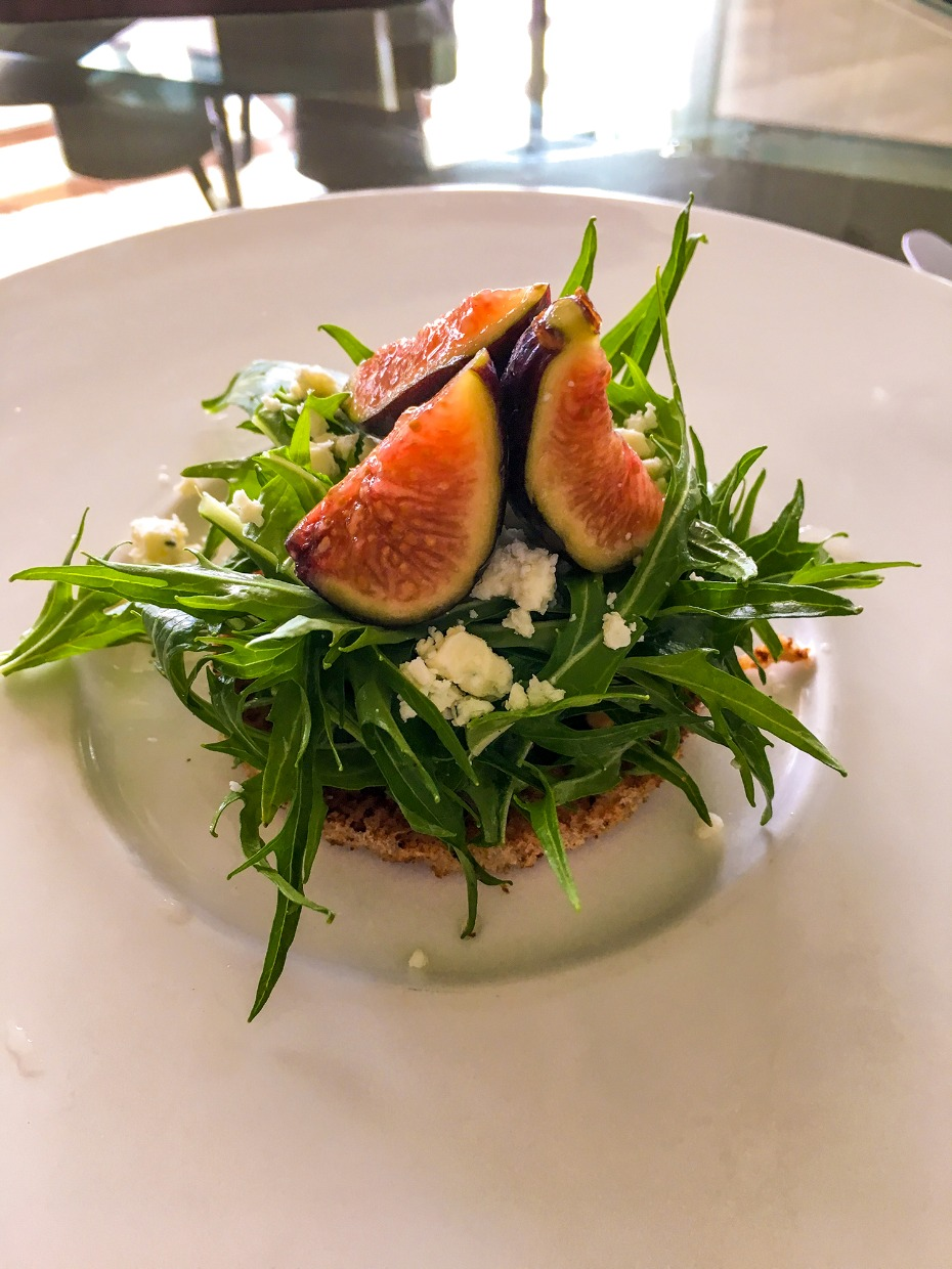 fig and crab salad