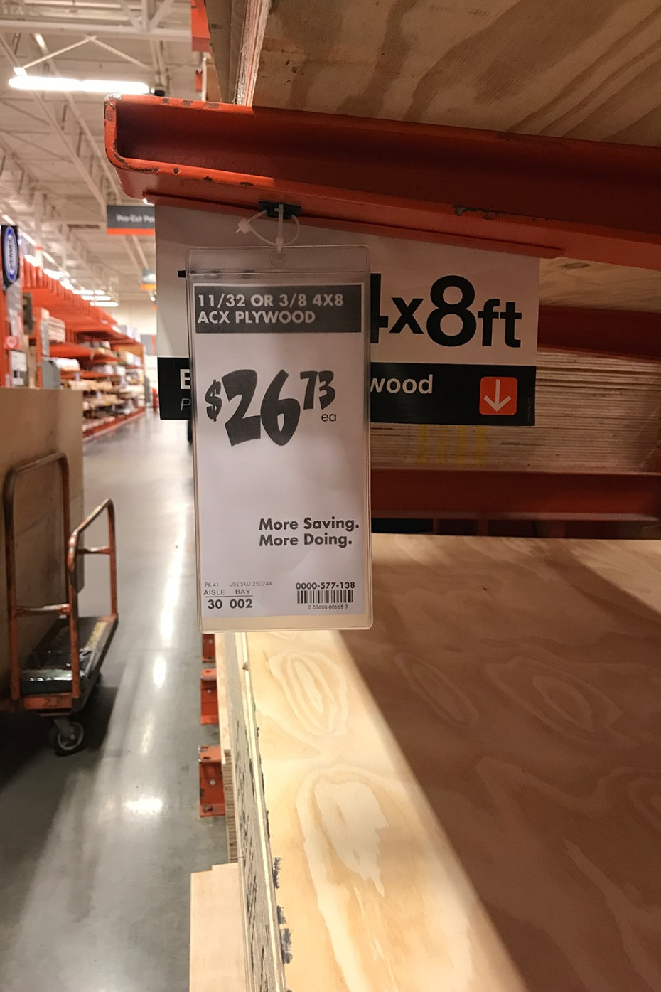 buy wood at home depot