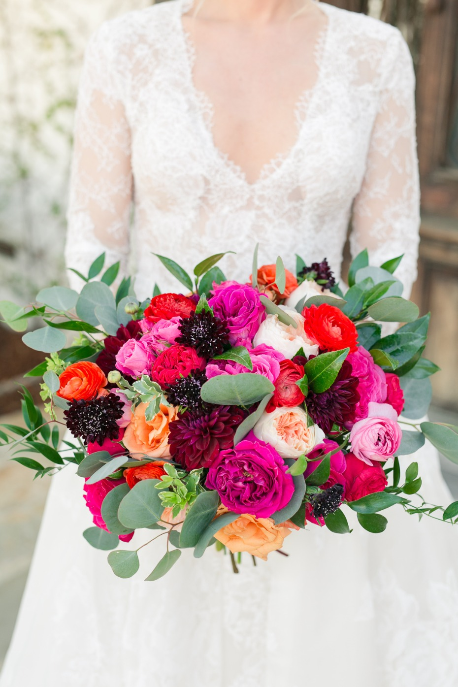 bright pink summer time bouquet