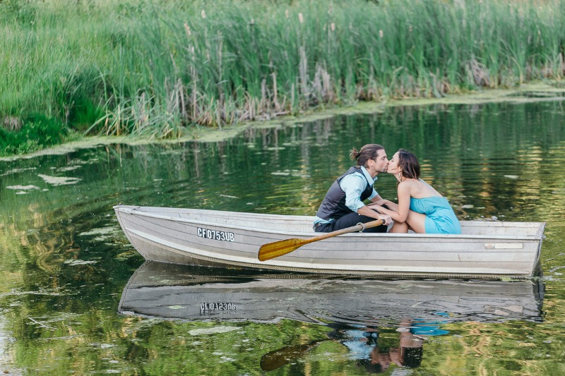 Photographers - Always, always, always make use of a boat and a pond...