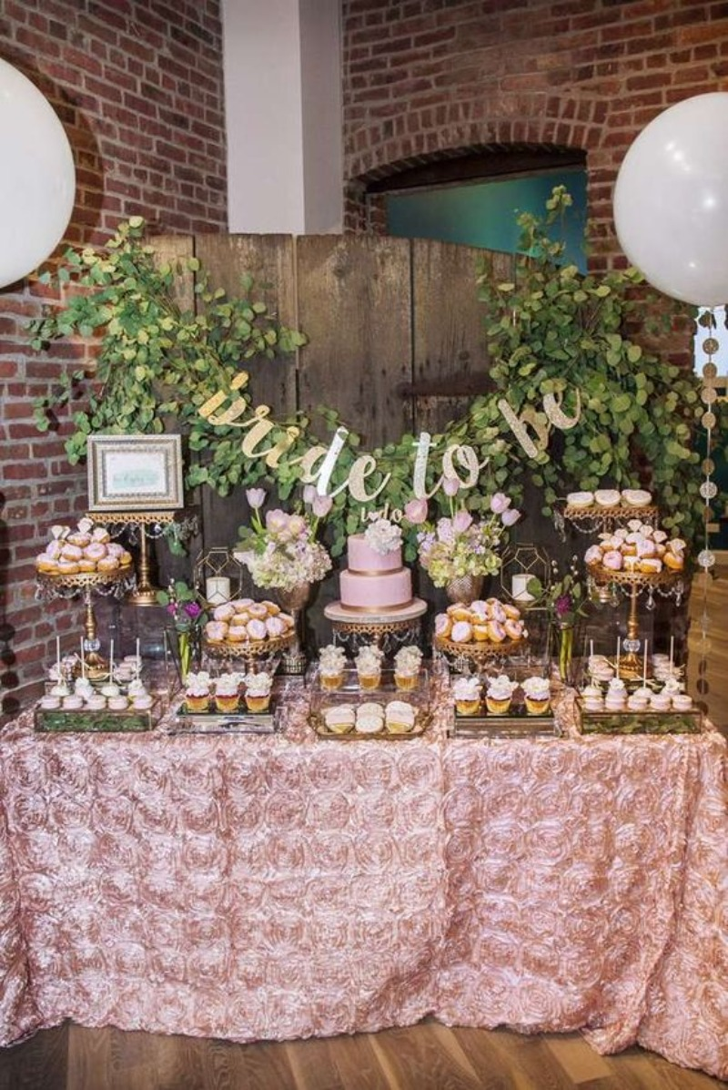 Dessert Table for the Bride-to-Be! Bridal Shower Ideas and More! Opulent Treasures Cake & Dessert Stands will help you create a