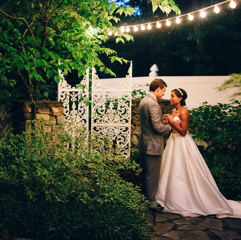 Undisputed garden glamour. So much love between Shelitha and Jack! See more on the blog with photos by