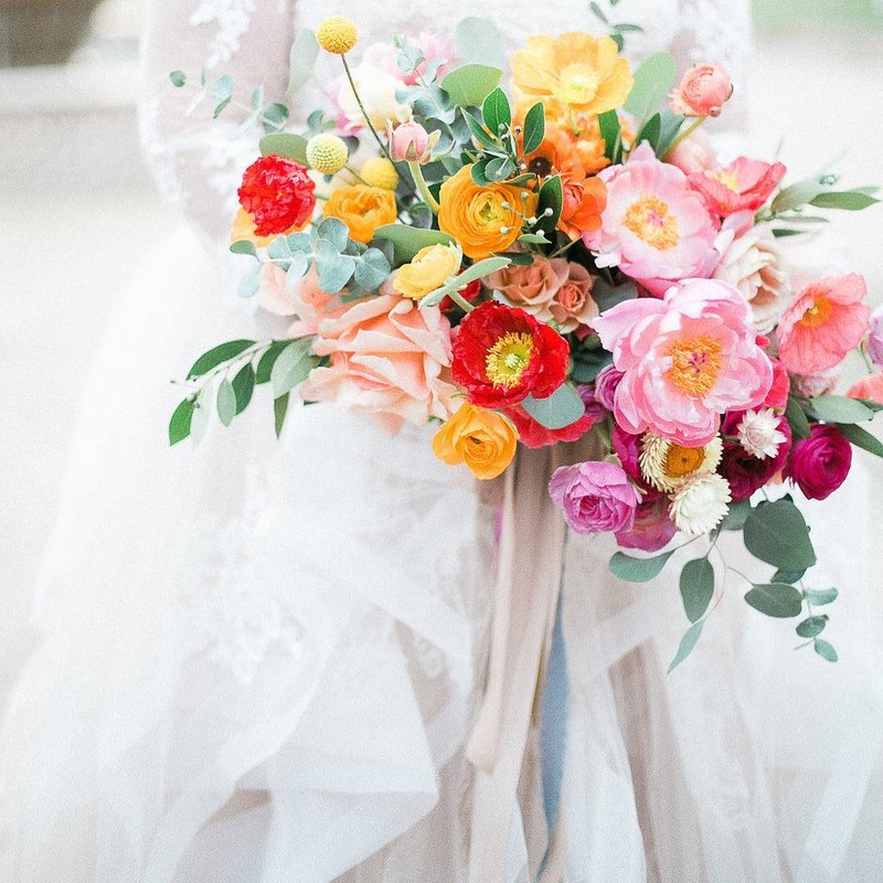 No words for this bright and beautiful bouquet captured perfectly by