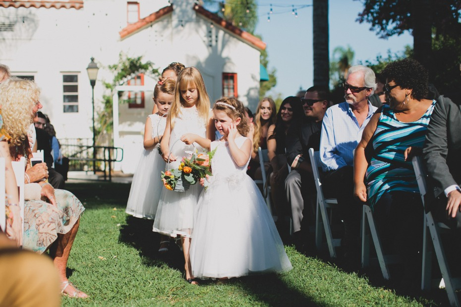 flower girls for your summer time wedding