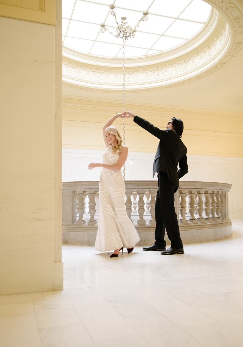 San Francisco City Hall is one of my all-time favorite wedding venues; this shot was taken in one of many gorgeous backdrops. Read
