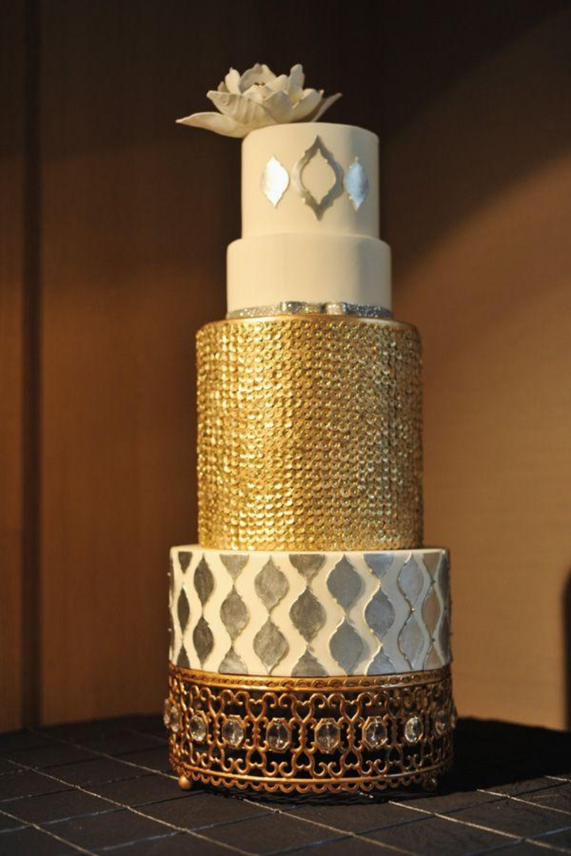 Unique Wedding Cake Stands created by Opulent Treasures