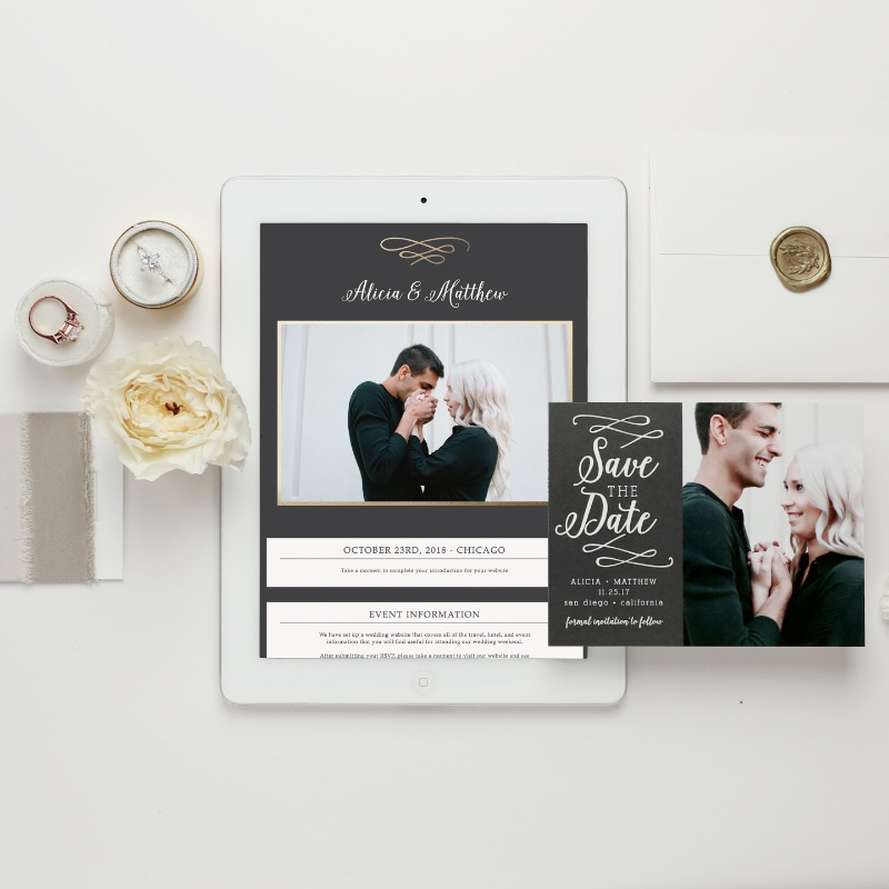 Wedding websites that you will love! We've added over 100 new designs all with matching wedding invitations AND the amazing features