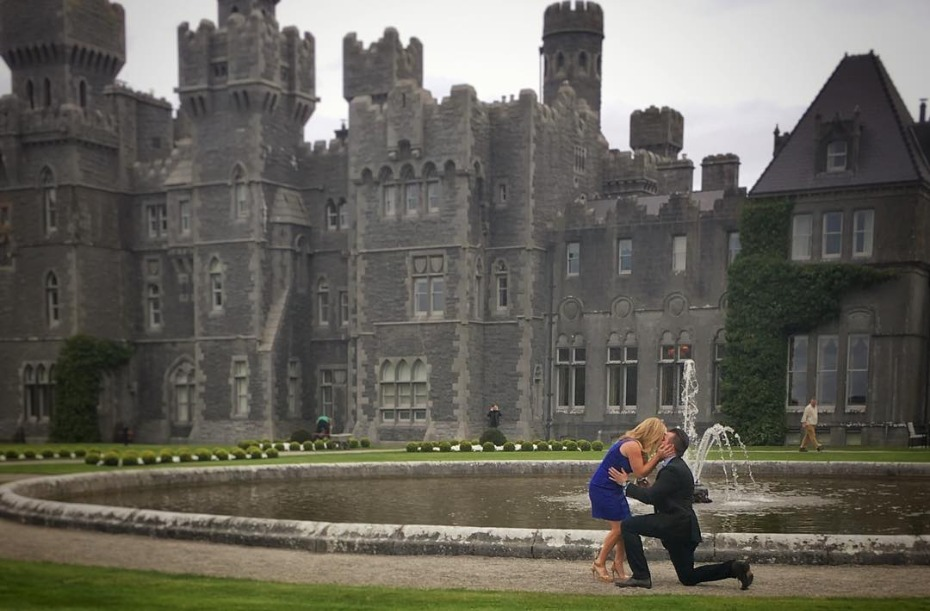 Sabrina Bryan Gets Engaged at Ashford Castle in Ireland