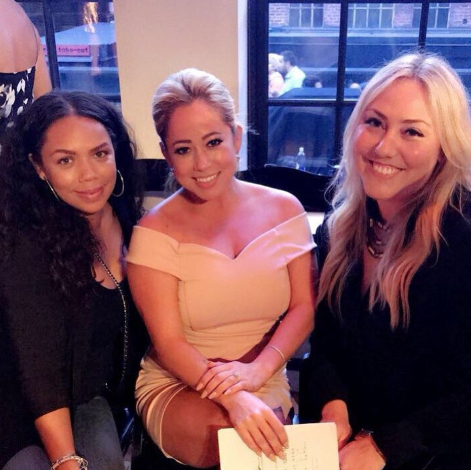 Sabrina Bryan and Kiely Williams Cheetah Girls