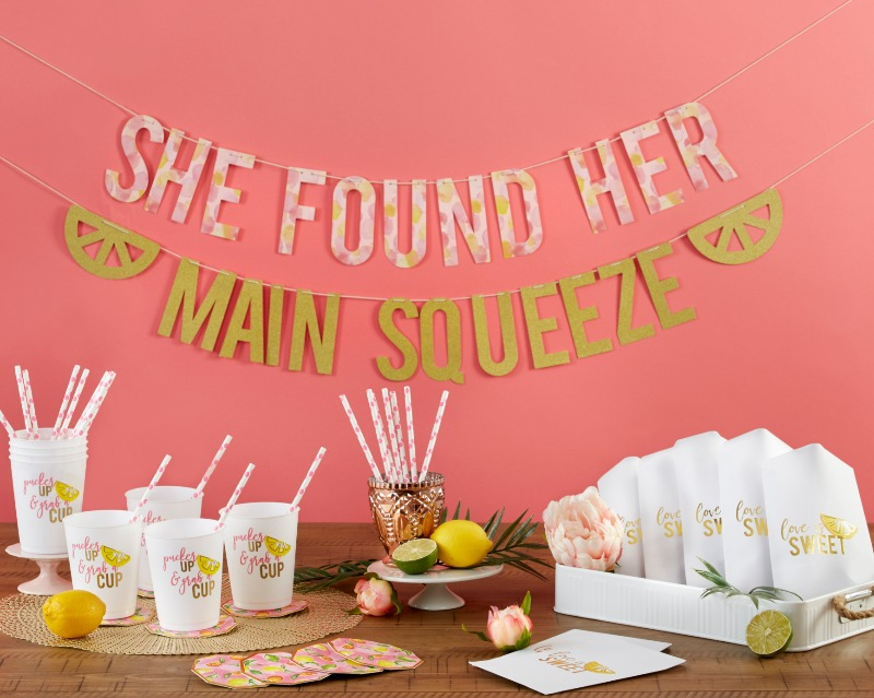 Our She Found Her Main Squeeze 49 Piece Party Kit is the bridal shower kit or bachelorette party kit you've been looking for! With